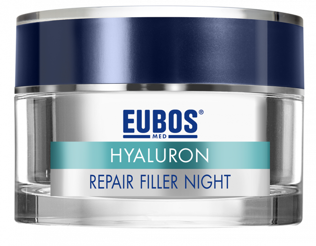 EUBOS ANTI AGE HYALURON, REPAIR FILLER NOČNA, 50ML