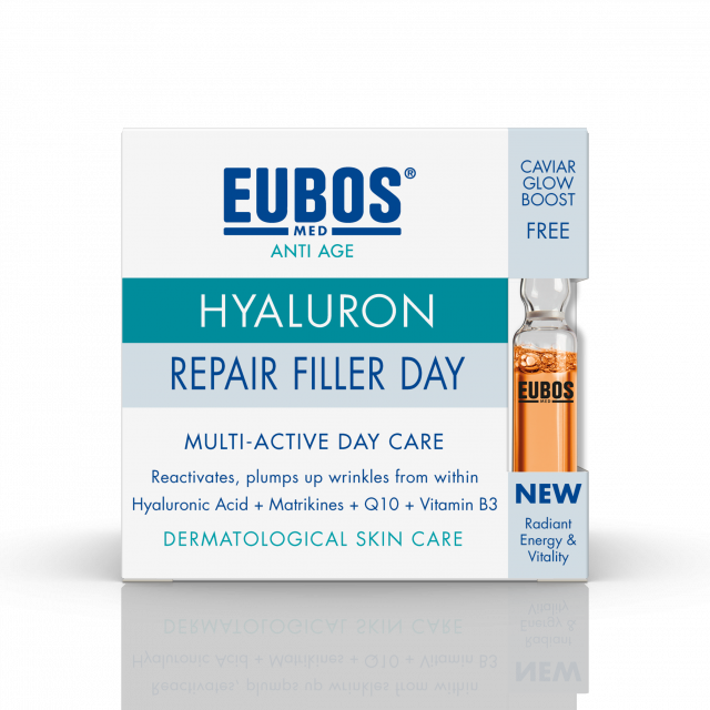 ANTI AGE HYALURON REPAIR FILLER DAY 50ML + GRATIS IN A SECOND CAVIAR AMPULA 2ML